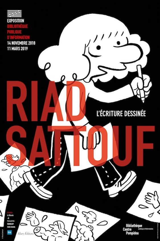 Affiche_Exposition_Riad_Sattouf